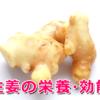生姜の栄養、効果効能がすごい!