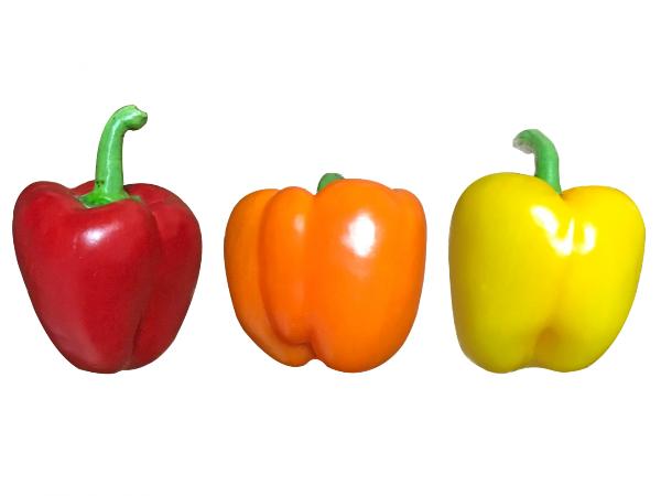 パプリカの栄養と効果効能。赤黃オレンジの色で違う?