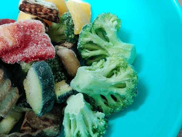 冷凍すると栄養に変化は